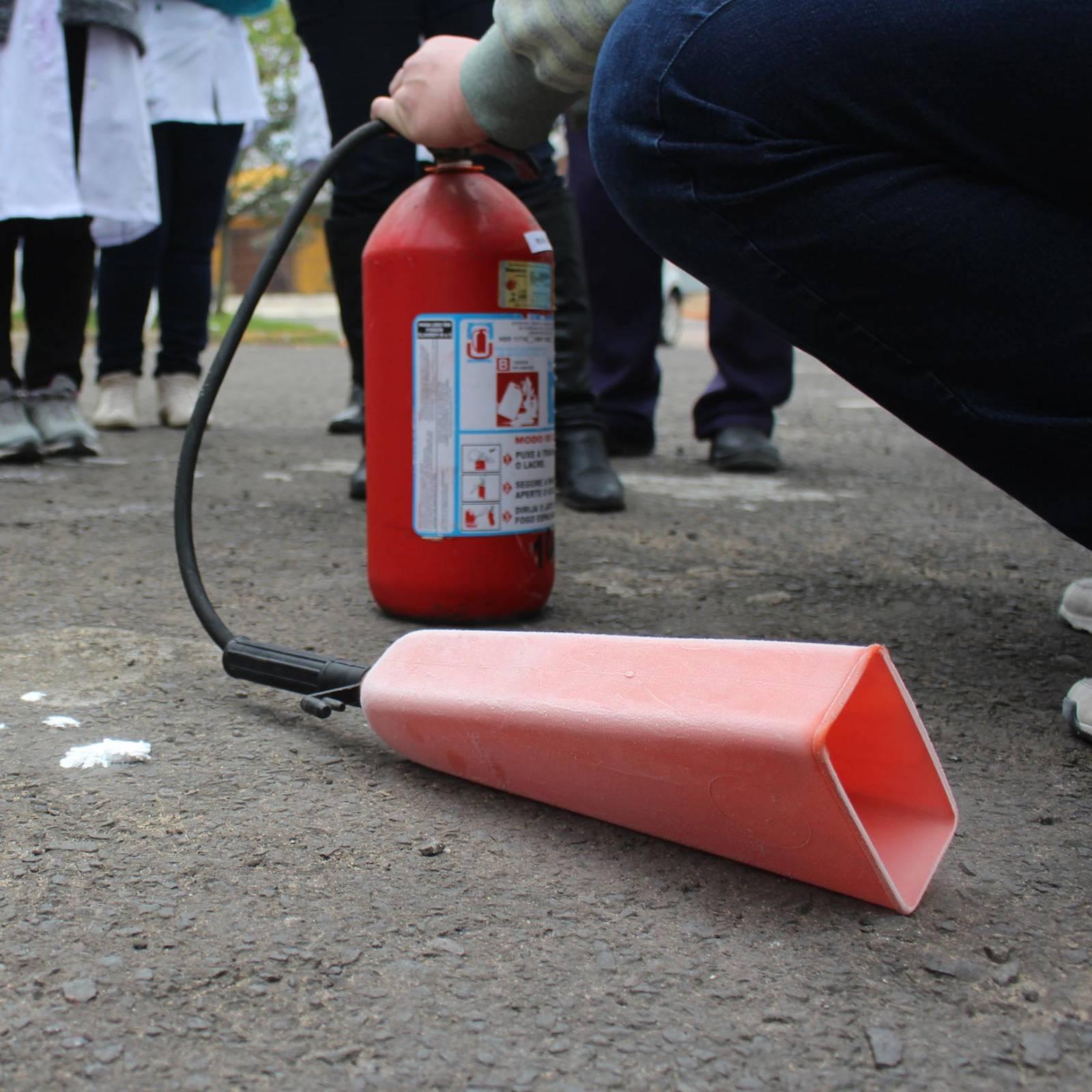 Teste Hidrostático em Extintores